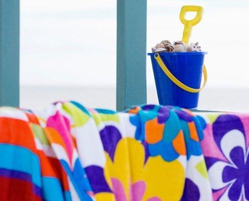 Fiber Reactive Printed Beach Towels 3SIXTY