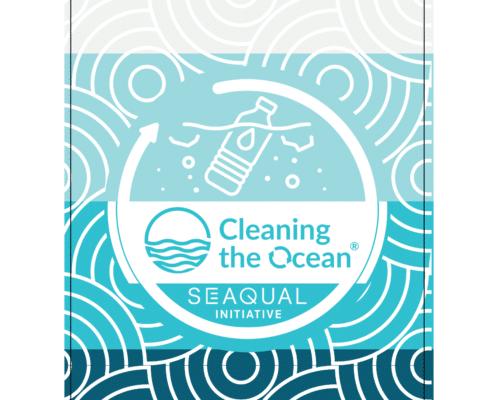 upcycled ocean waste towel