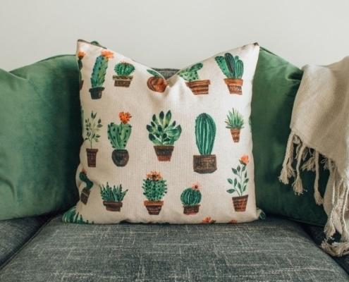 eco friendly cushion