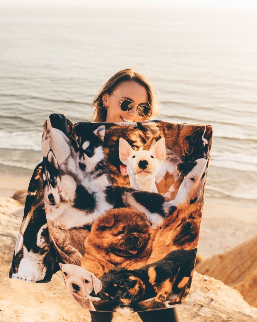 recycled beach towel