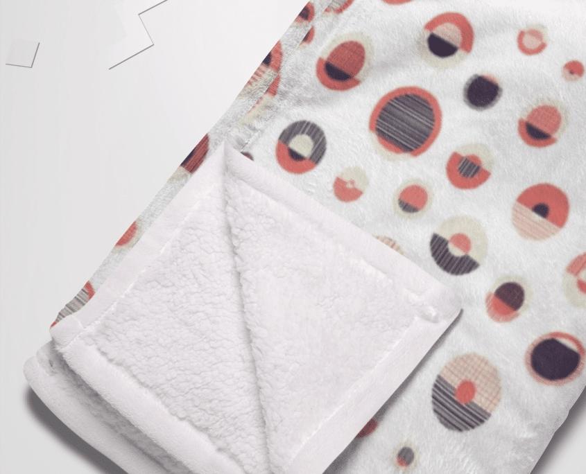 Printed Fleece Blanket 3SIXTY