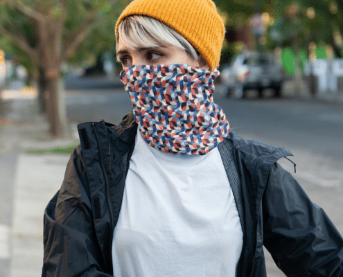 recycled neck scarf