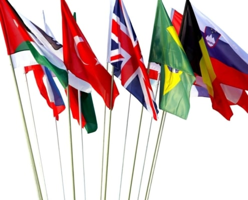 Recycled Custom Flags 3SIXTY