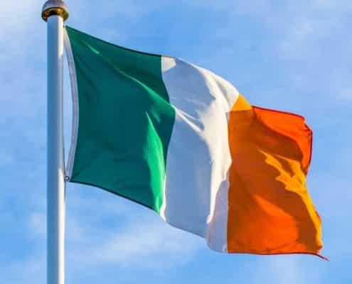 ireland flag recycled